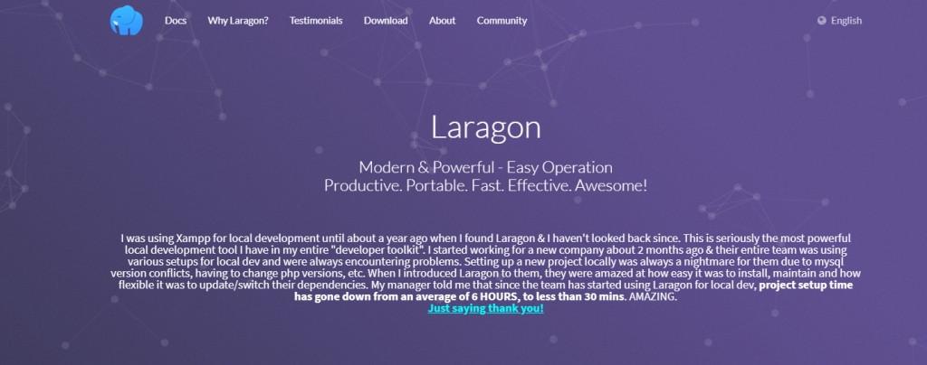 Laragon - lokaler Server für WordPress