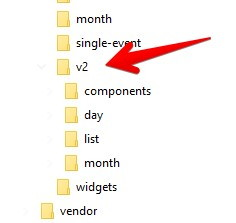 The Events Calendar WordPress 5.2