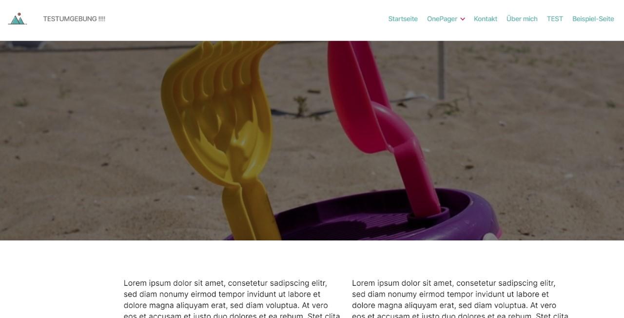 Parallax twenty twenty CSS WordPress