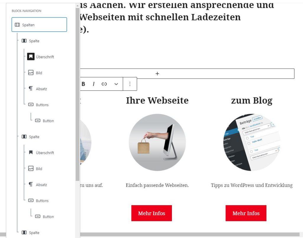 Block Patterns WordPress