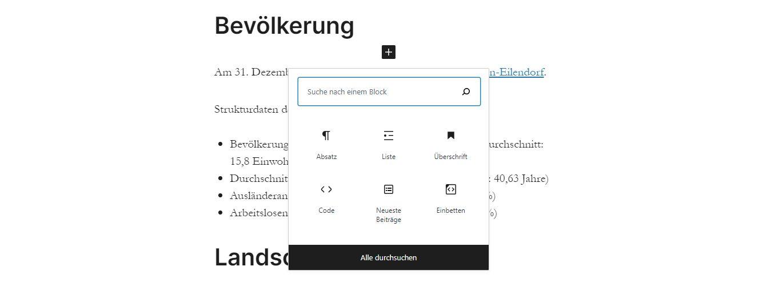 Vortrag meetup Block-Editor