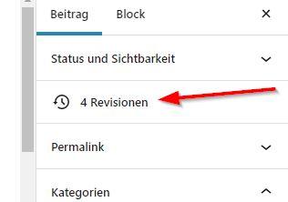 Erste Hilfe bei WordPress-Webesiten - Wiederherstellen