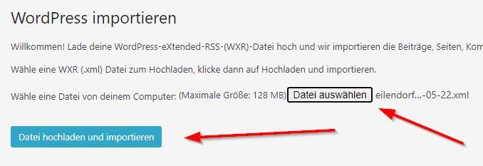 WordPress - Wiederherstellung der Kontaktformulare