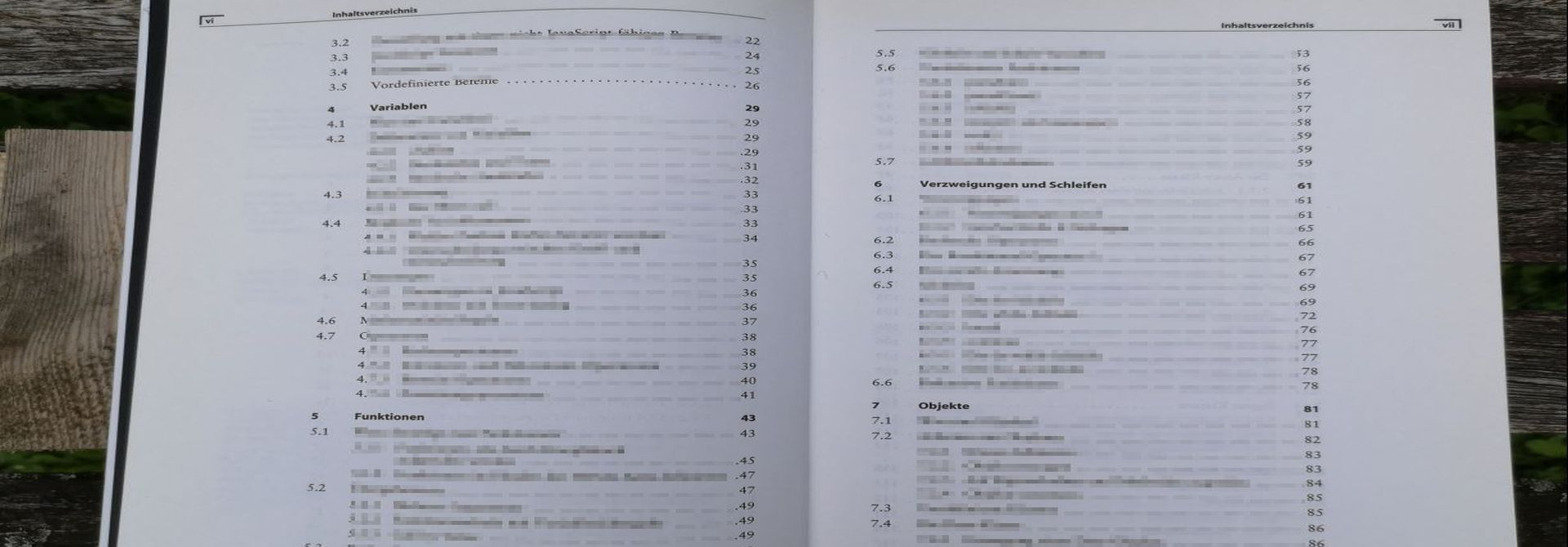 WordPress: Inhaltsverzeichnis (table of contents)