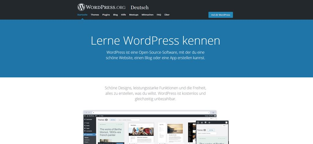 Lerne WordPress kennen - Community
