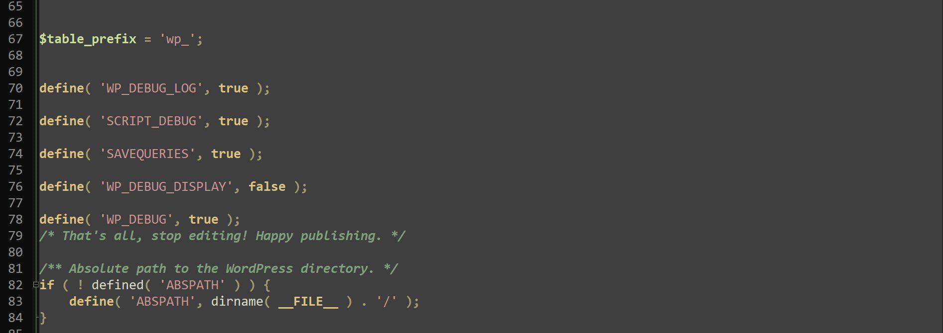Debug-Modus auf WordPress-Seiten mit und ohne Plugins